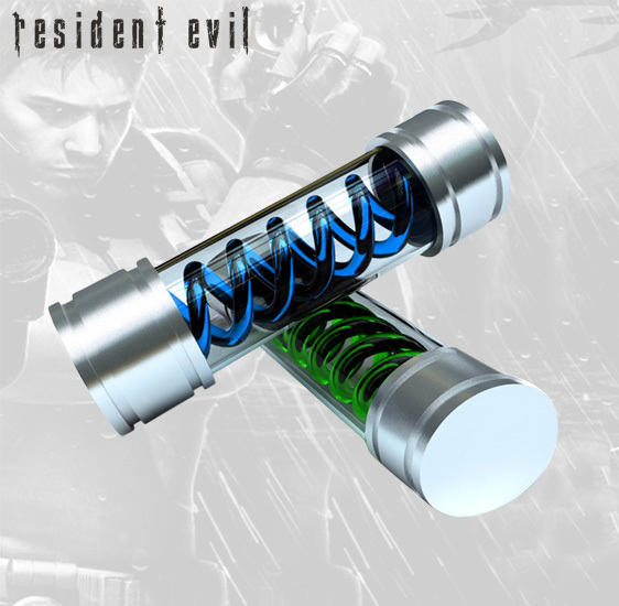 RESIDENT-EVIL-T-Virus-and-Anti-Virus-Prop-Replica-Hollywood-Collectibles