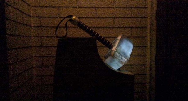 Life Size THOR Mjolnir Hammer Prop Replica