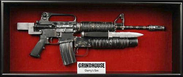 NECA Life-Size Replica of Cherry's Gun from GRINDHOUSE: PLANET TERROR