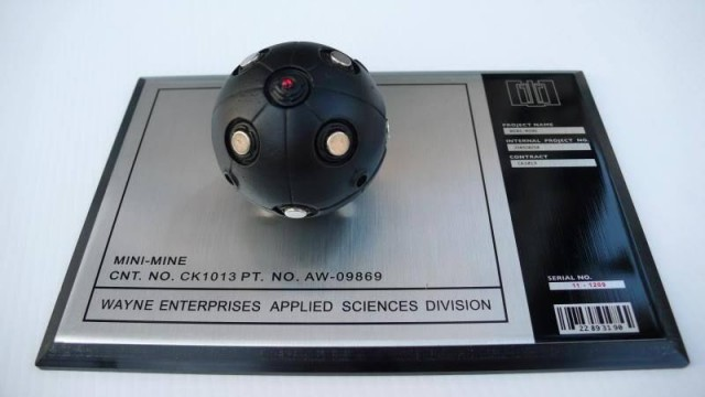 The Dark Knight Mini Mine Bat Bomb Prop Replica